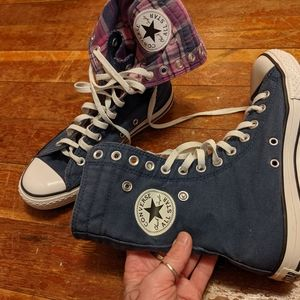 Converse high top shoes